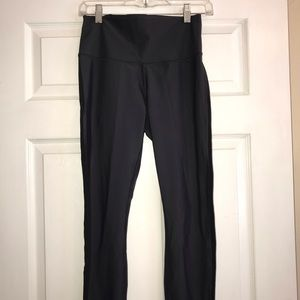 Lululemon Sz8 Black/gray leggings